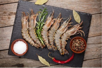 Frozen Large Black Tiger Prawns